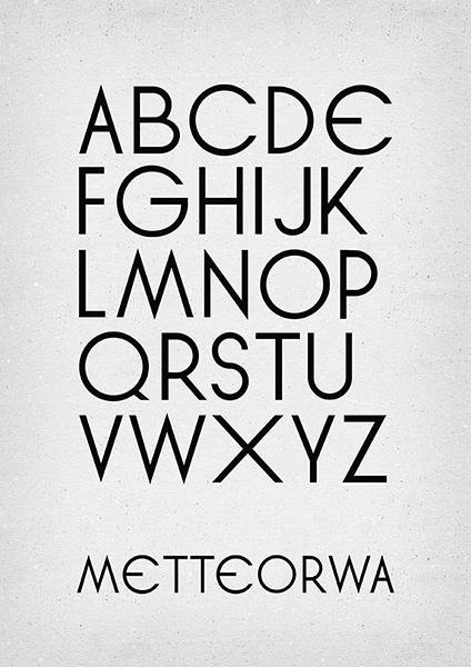 Návrh vlastní abecedy