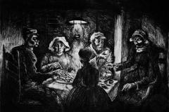 Kopie, Jedlíci brambor - V. Gogh