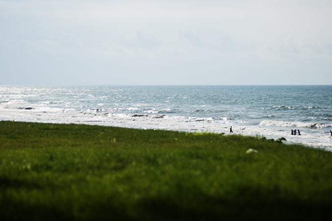 Unye, pohled na Černé moře
