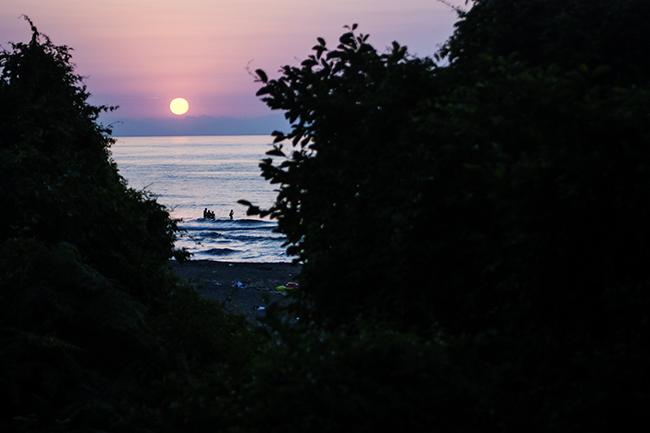Unye, Černé moře